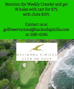 Pinilla Golf Banner